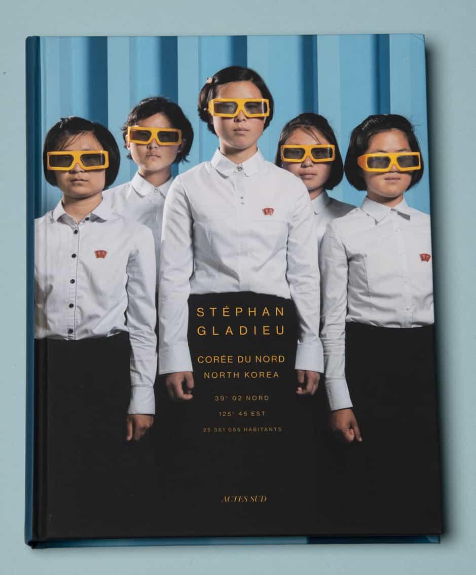 """Livre """"Corée du Nord - Photographie de Stephan Gladieu"""" Actes Sud"""