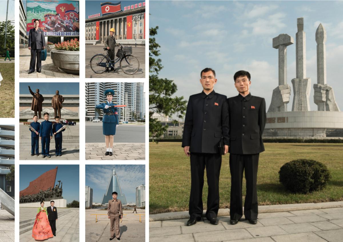 Corée du Nord 2017, Une vie communautaire Photographie Fine Art print sur papier Hahnemühle ©STEPHAN GLADIEU
