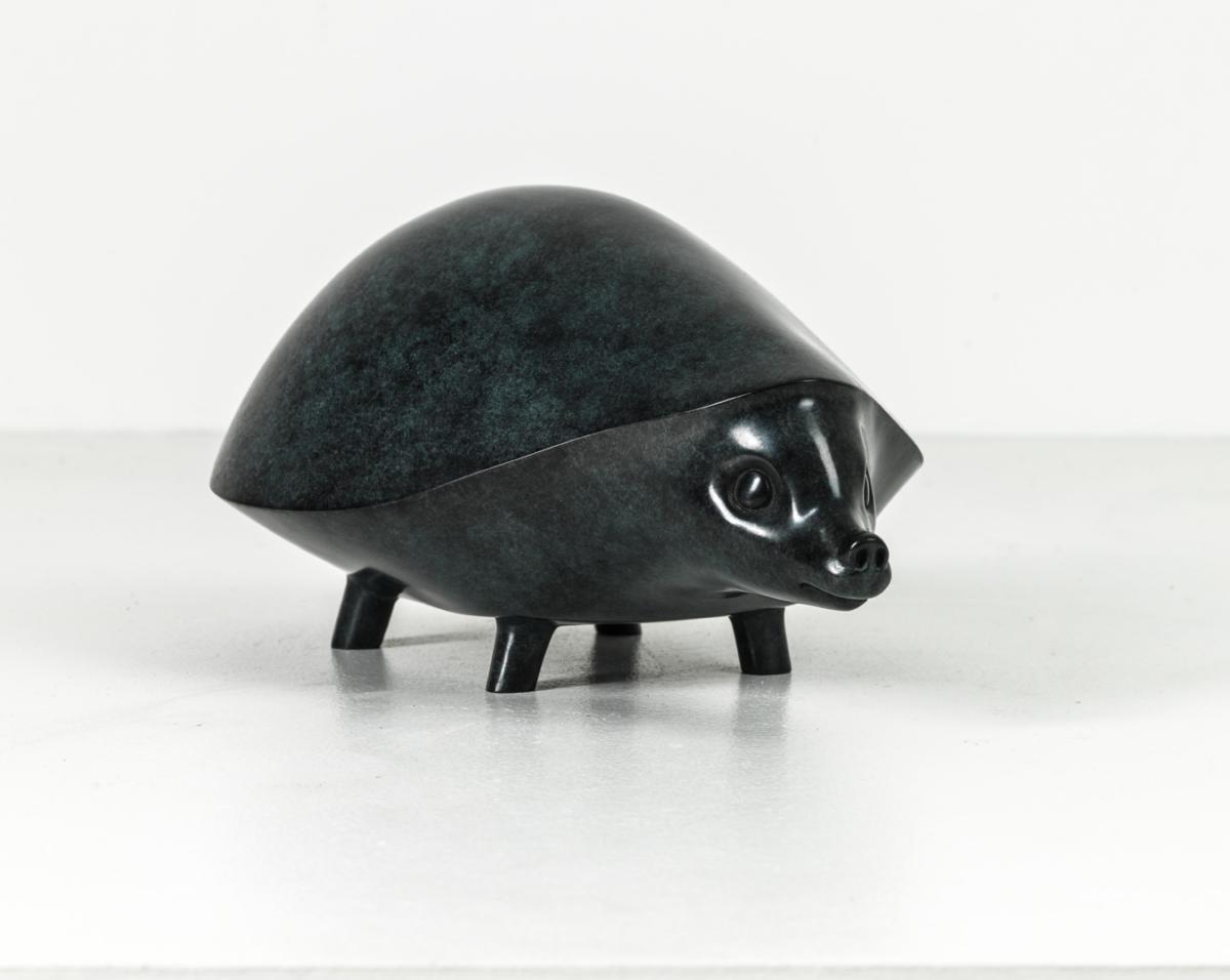 Hérisson Bronze 24 x 35 x 20 cm, DP054 ©Denis Polge