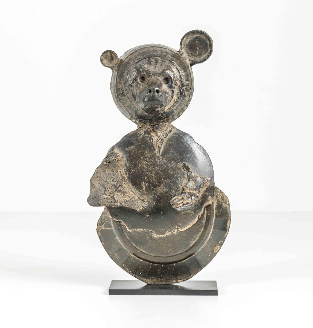 Ours Bronze 47 x 20 x 8 cm, DP008 ©Denis Polge