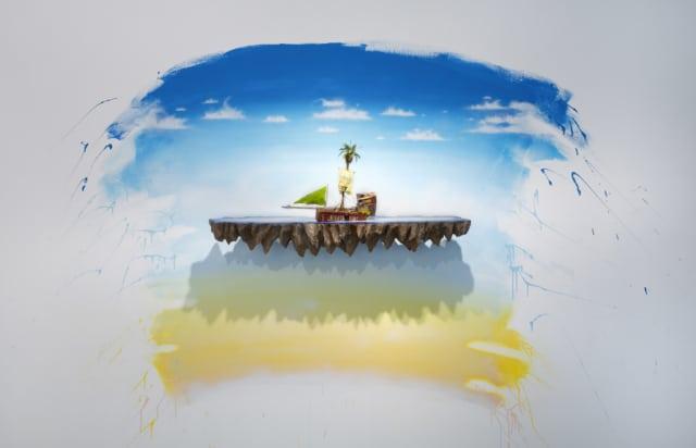 Sponsored by nobody, 2019 Sculpture technique mixte 100 x 46 x 25 cm LF-1918 ©LA FRATRIE photographie ©Bertrand Hugues