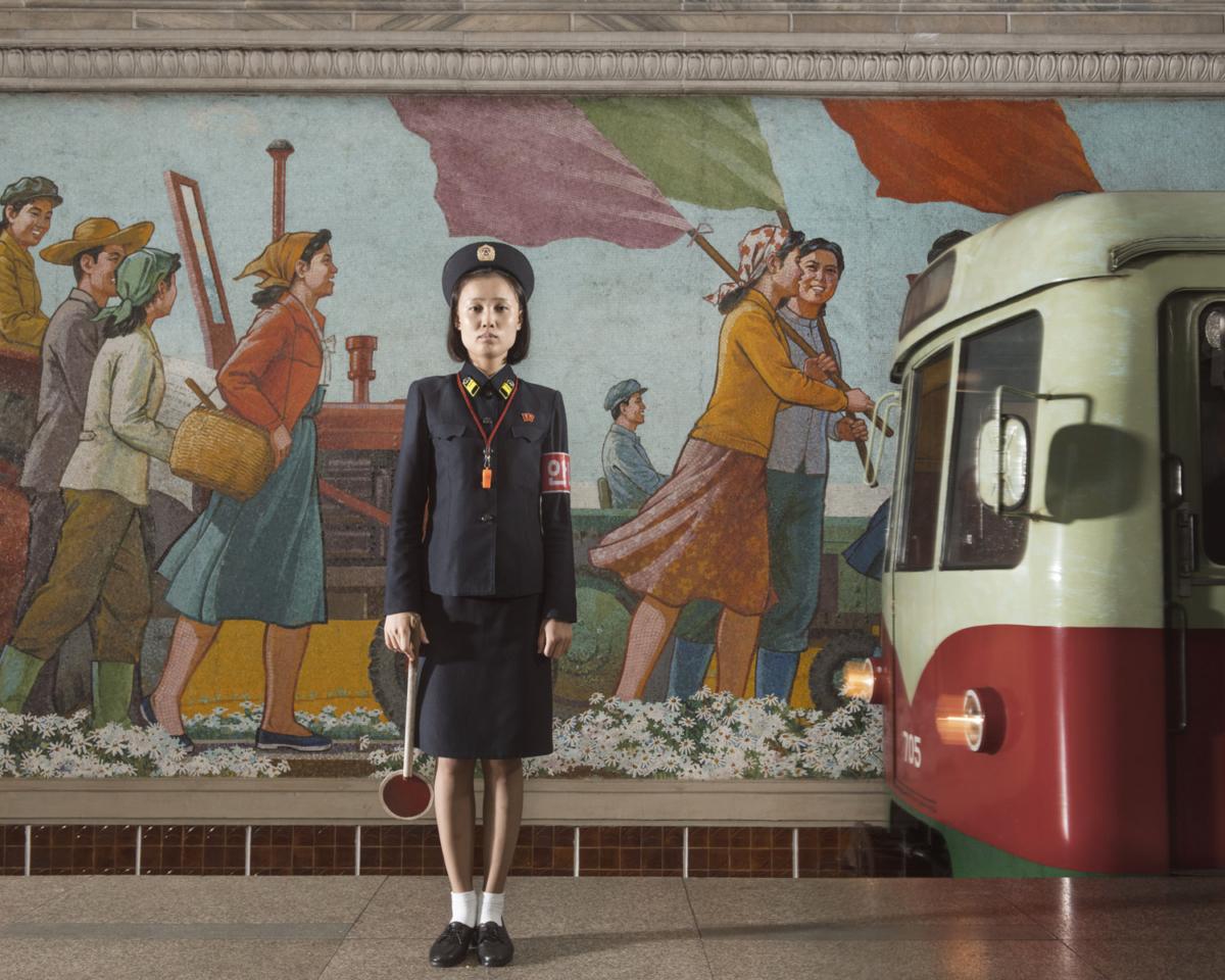 Corée du Nord #04, 2017 Photographie Fine Art print sur papier Hahnemühle 80 x 100 cm, SG-CN04 ©STEPHAN GLADIEU