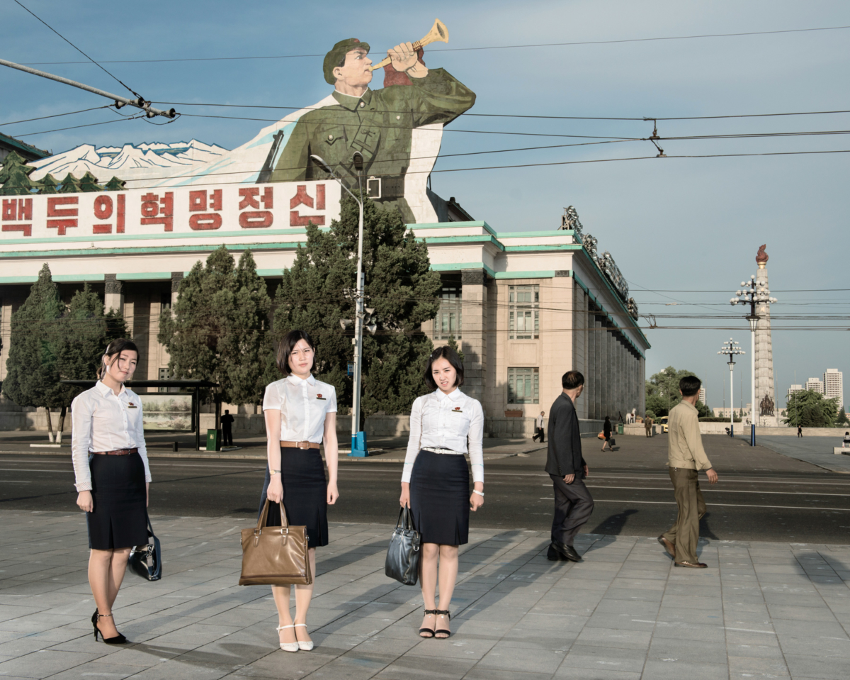 Corée du Nord #104, 2017 Photographie Fine Art print sur papier Hahnemühle 80 x 100 cm, SG-CN104 ©STEPHAN GLADIEU