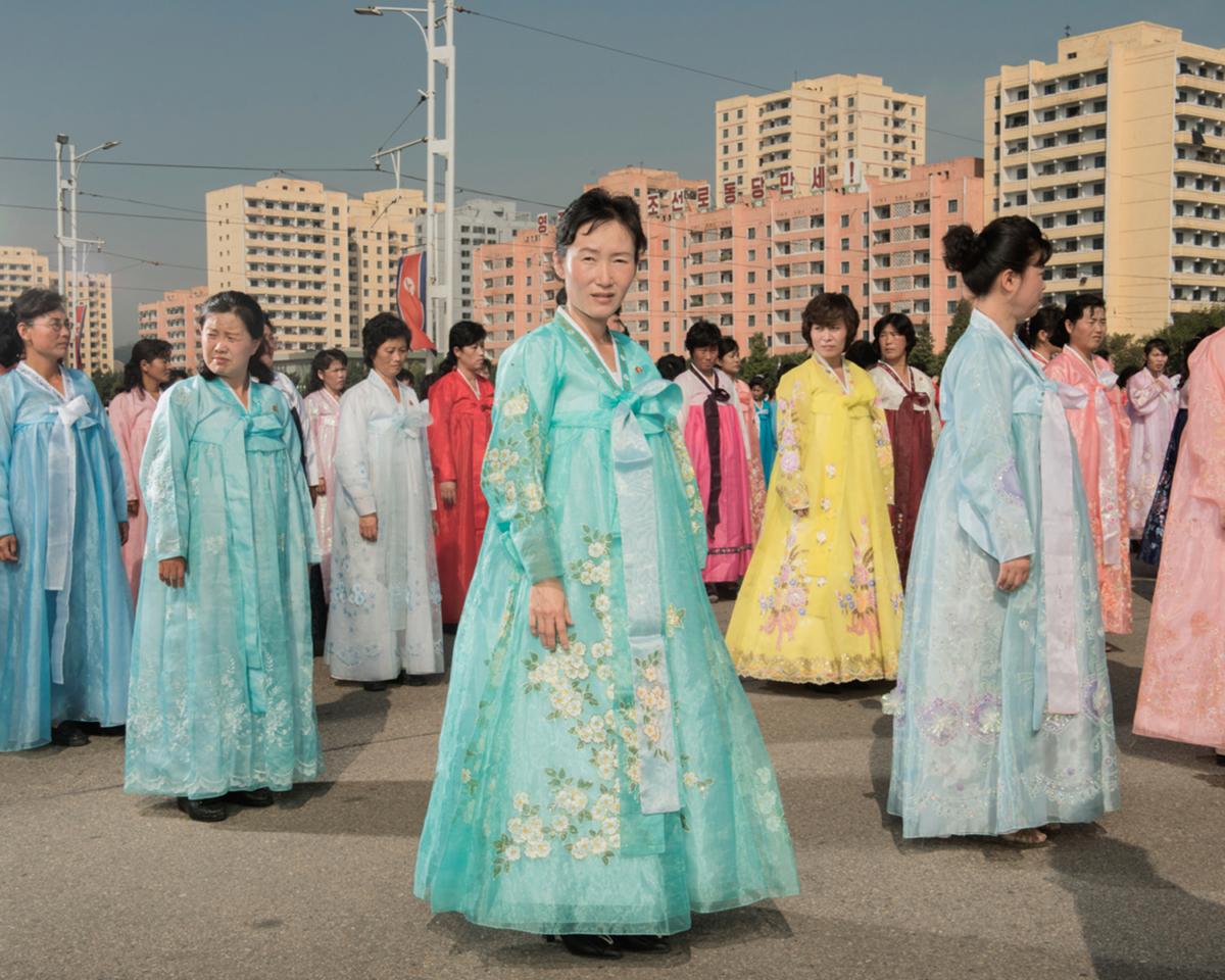 Corée du Nord #12, 2017 Photographie Fine Art print sur papier Hahnemühle 80 x 100 cm, SG-CN12 ©STEPHAN GLADIEU