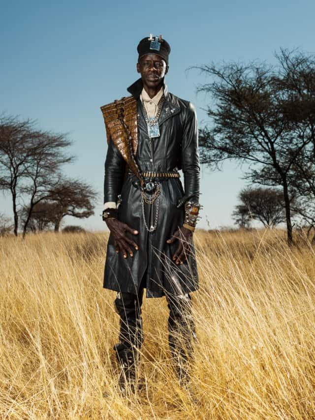 Hereros #23, Namibie 2017 Photographie Fine Art print sur papier Hahnemühle 80 x 100 cm, SG-HE23 ©STEPHAN GLADIEU
