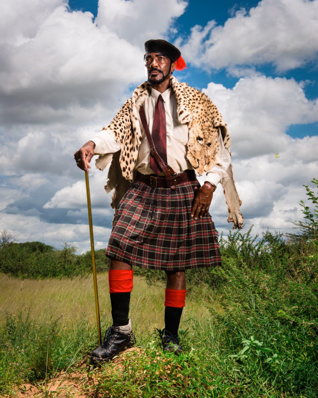 Hereros #40, Namibie 2017 Photographie Fine Art print sur papier Hahnemühle 80 x 100 cm, SG-HE40 ©STEPHAN GLADIEU