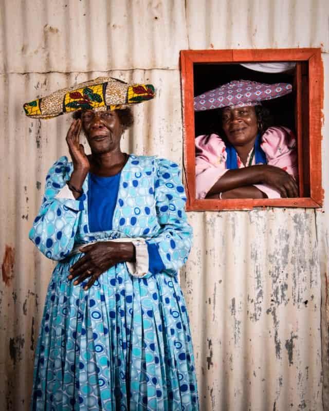 Hereros #43, Namibie 2017 Photographie Fine Art print sur papier Hahnemühle 80 x 100 cm, SG-HE43 ©STEPHAN GLADIEU