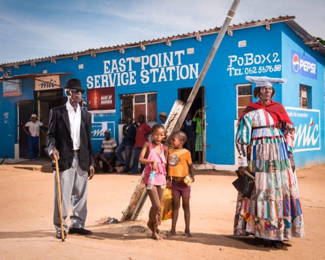 Hereros #44, Namibie 2017 Photographie Fine Art print sur papier Hahnemühle 80 x 100 cm, SG-HE44 ©STEPHAN GLADIEU