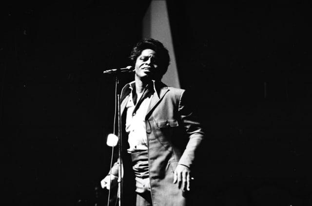 James Brown à l'Olympia, Paris, septembre 1967, GC-04744-5-5A ©Fondation Gilles Caron