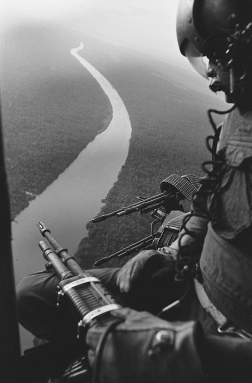 Dans le Delta, Guerre du Vietnam, décembre 1967, GC-06108-005 ©Fondation Gilles Caron