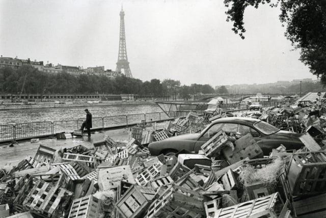 Quai de la Conférence, Paris, mai 1968, GC-08536-011 ©Fondation Gilles Caron