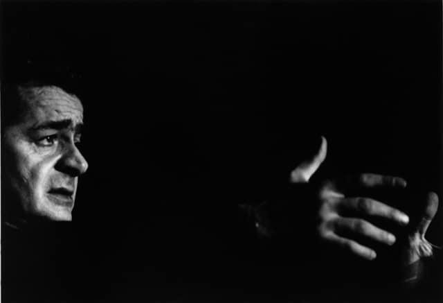 Serge Reggiani à Bobino, Paris, février 1969, GC-13176-13 ©Fondation Gilles Caron