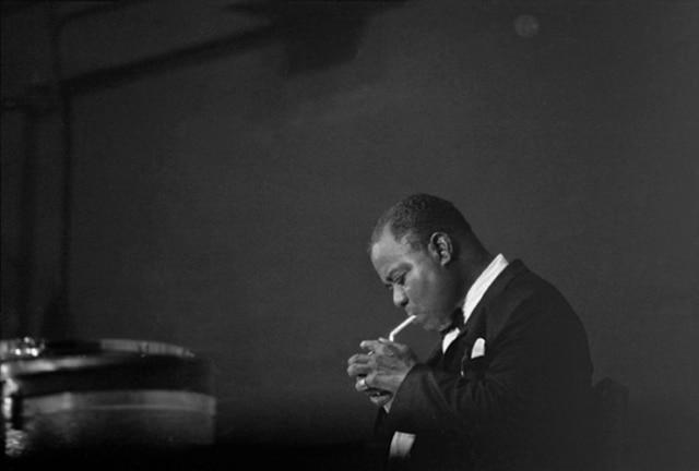 Louis Armstrong, Palais des Sports, Paris, juin 1965, GC-21602-016 ©Fondation Gilles Caron