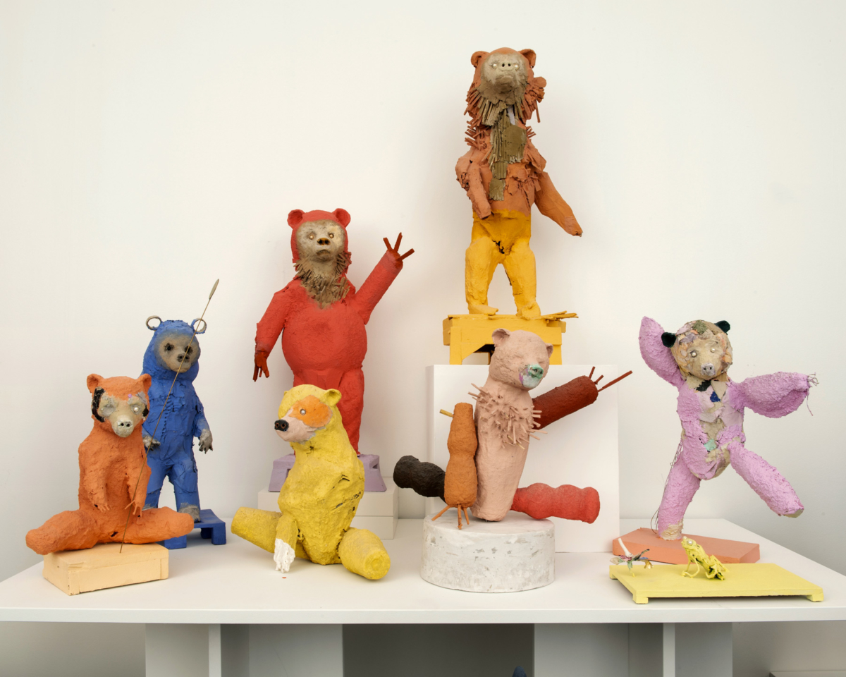 "Installation ""Les Joyeux"" Denis Polge Exposition 15.10 - 12.12.20"