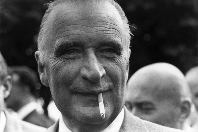 Georges Pompidou aux journées parlementaires du groupe UDR, La Baule, 10 septembre 1968 GC-1013-15 ©Fondation Gilles Caron
