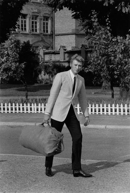Johnny Halliday, Paris, août 1965, GC-22477-31 ©Fondation Gilles Caron
