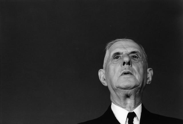 Charles de Gaulle, Bucarest, Roumanie, mai 1968, GC-08459-20A ©Fondation Gilles Caron
