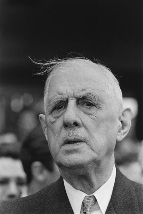 Le président Charles de Gaulle, Roumanie, mai 1968 GC-08405-12 ©Fondation Gilles Caron