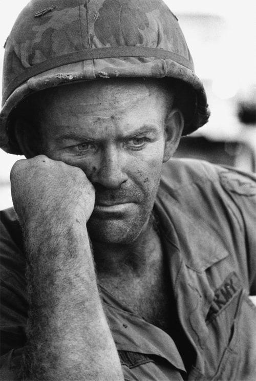 Soldat américain, Guerre du Vietnam, novembre 1967, GC-5754-18 ©Fondation Gilles Caron