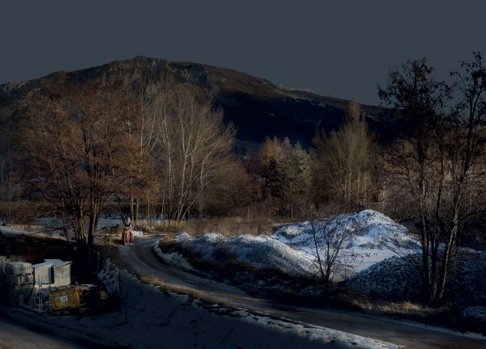 Jeanne, série My Sentimental Archives, 2011 photographie pigment print, 115 x 160 cm édition 8 + 2 EA ©Nicolas Dhervillers