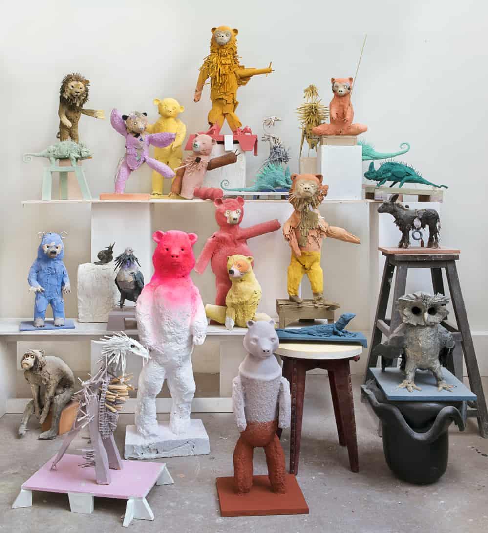 """Bandeau """"Les Joyeux"""" Denis Polge, 1er DÉC. 2020 > 28 JANV. 2021 à la School Gallery"""