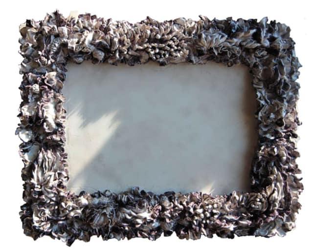 Miroir Huîtres W, 2016 Céramique 55 x 67 x 7 cm, BC-1660 ©BACHELOT&CARON