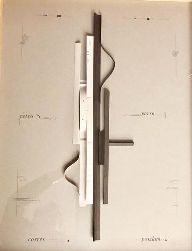 Retro, verso, corres-pondant, 1993-2011 Papier plié, 82,5 x 62 cm, MO-19031 ©Marie Orensanz