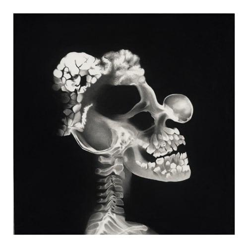 Adrien, 2014 Ceux qui naissent dans les fractures Dessin à la pierre noire sur papier 65 x 65 cm, RT907 ©Raphaël Tachdjian (collection privée)
