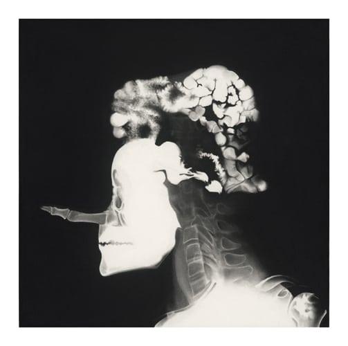 Stephane, 2014 Ceux qui naissent dans les fractures Dessin à la pierre noire sur papier 65 x 65 cm, RT902 ©Raphaël Tachdjian (collection privée)