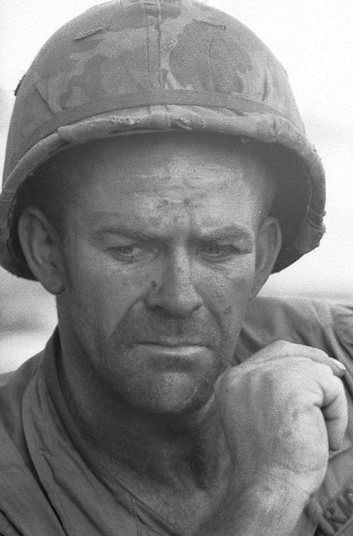 Soldat américain, Guerre du Vietnam, novembre 1967, GC-05754-16 ©Fondation Gilles Caron