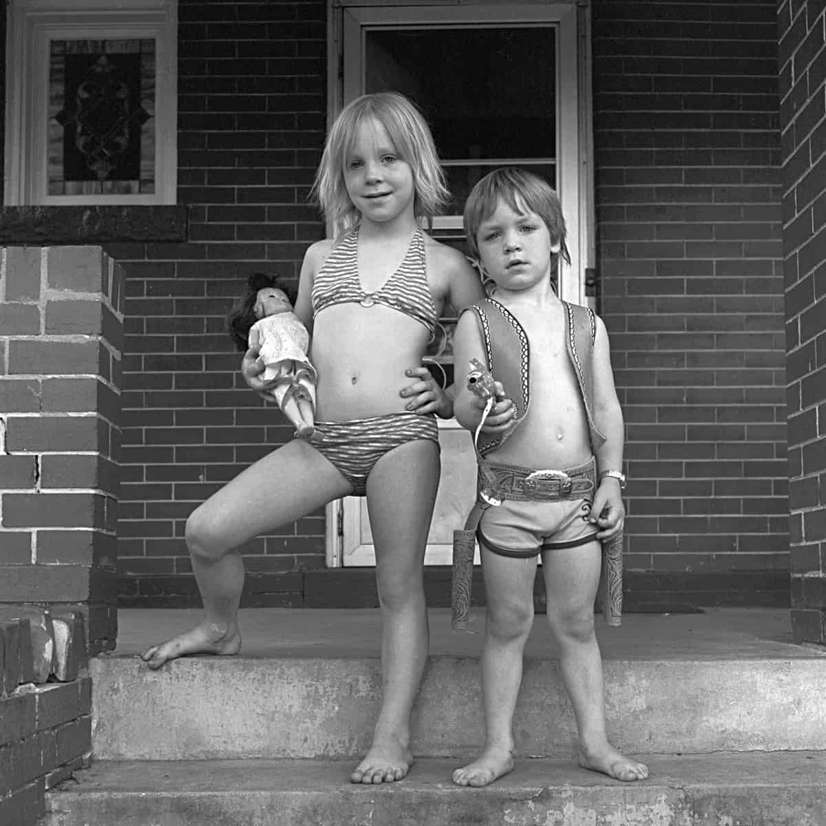 Kimberley & Garrett, Denver, 1978 Photographie ©Ricardo Bloch