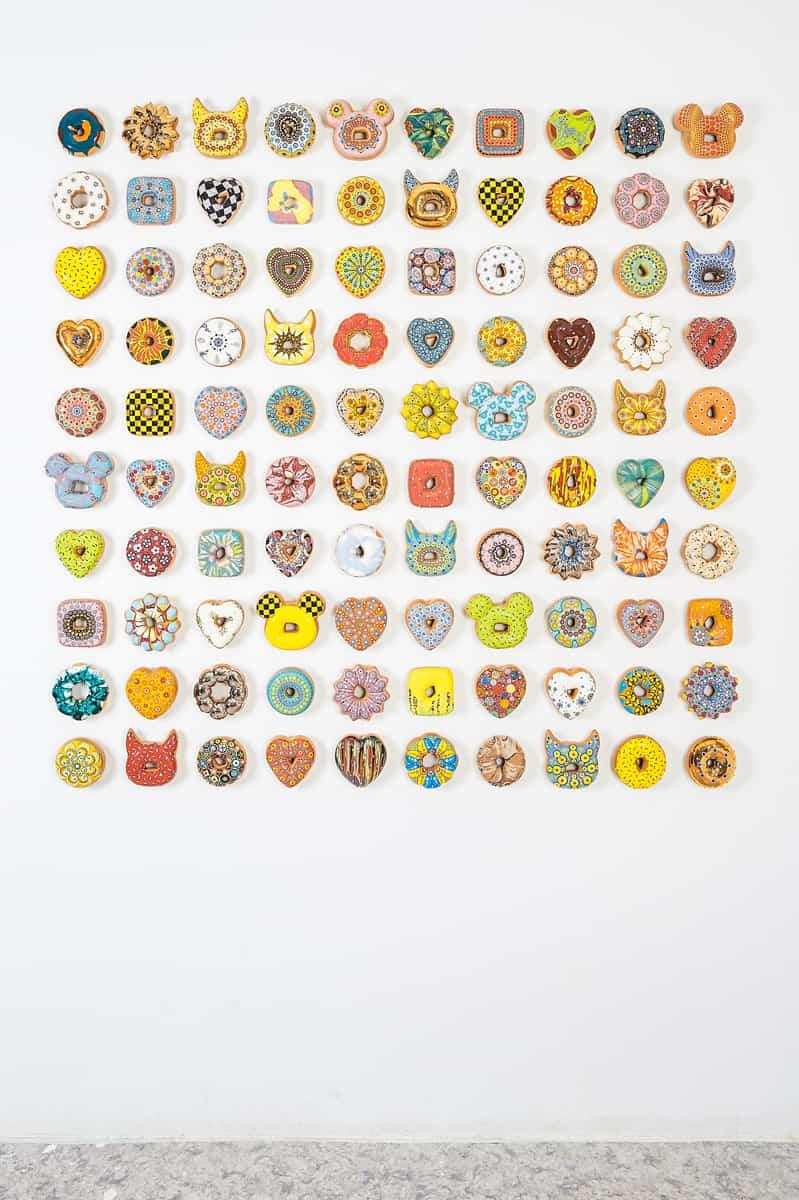 Donut Madness, Fondation Bernardaud Limoges ©Jae Yong Kim