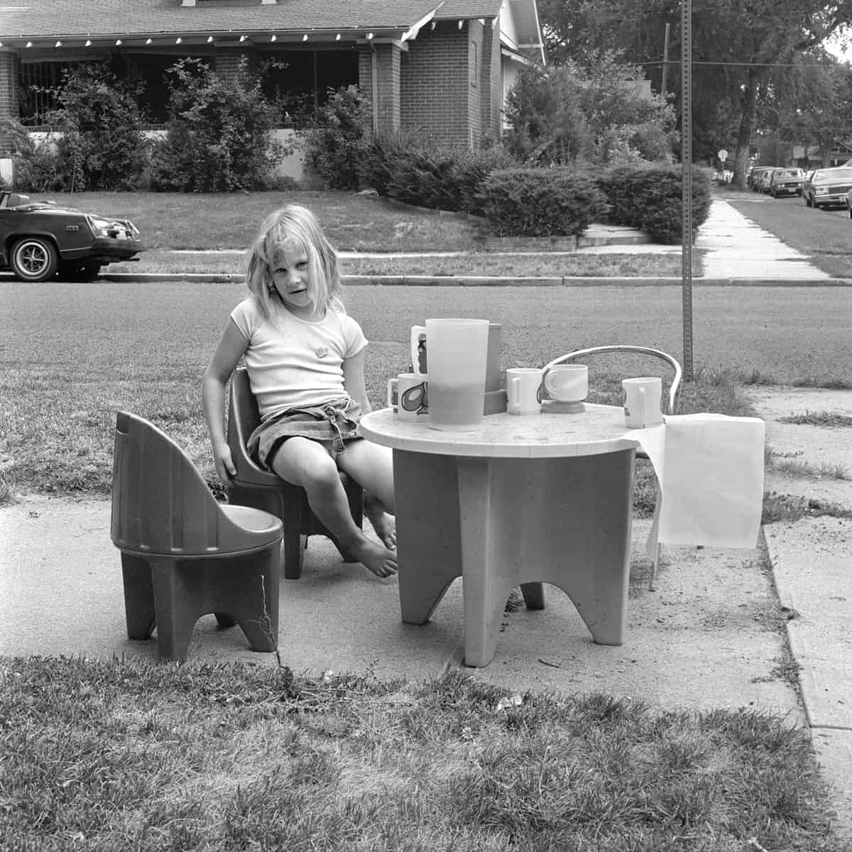 Jennifer, Denver, 1978 Photographie ©Ricardo Bloch
