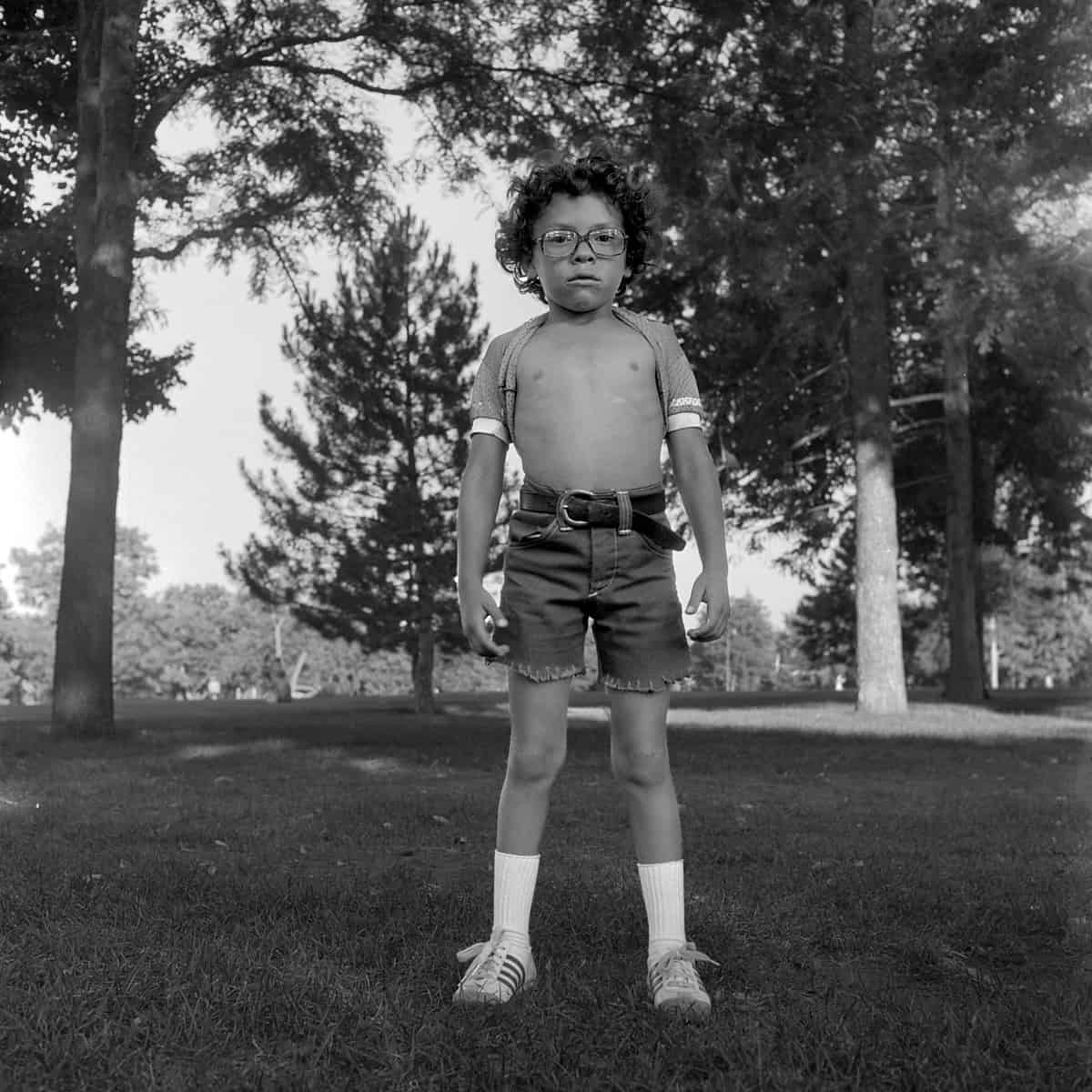 Ricky, Denver, 1978 Photographie ©Ricardo Bloch