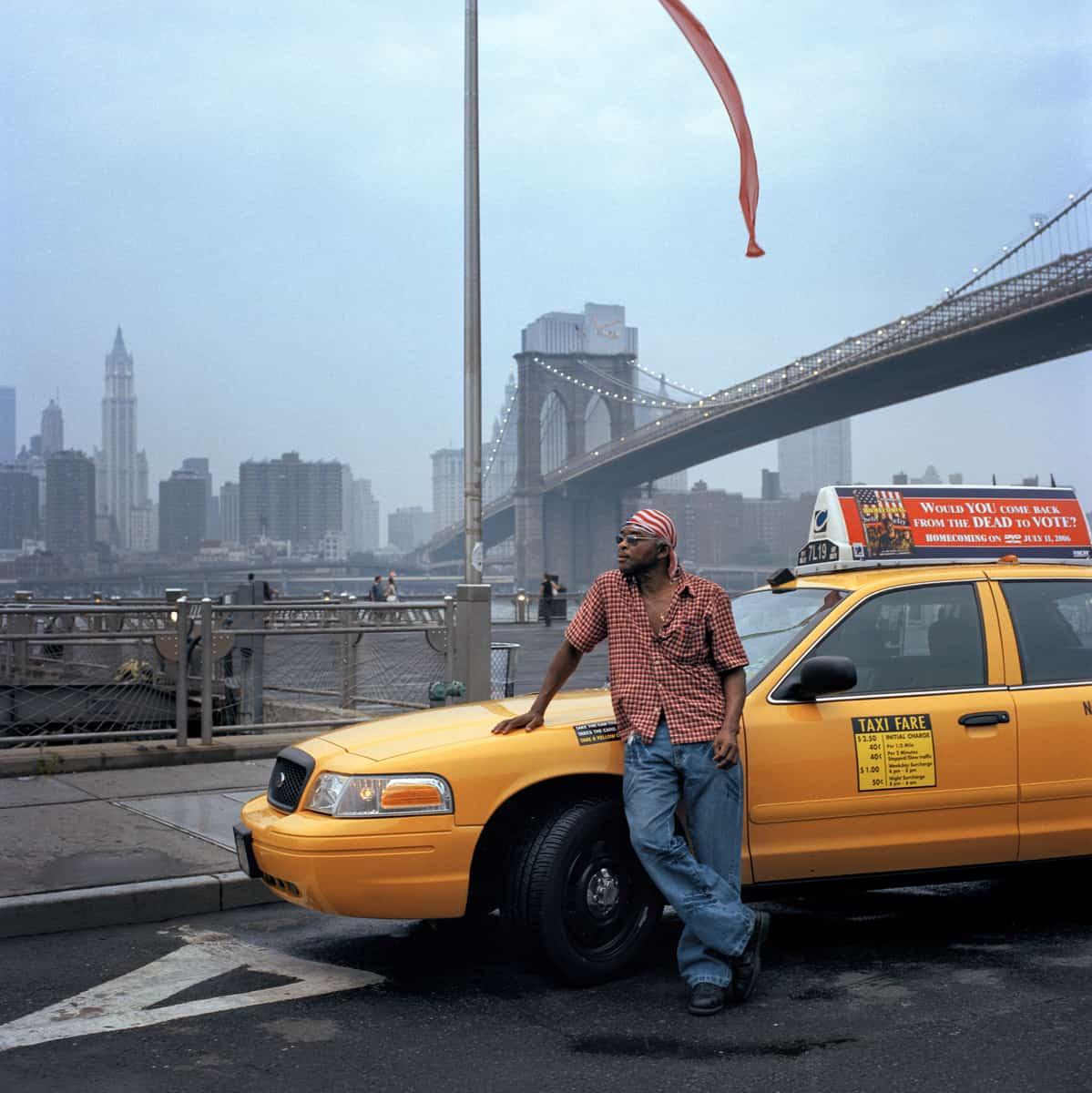 Taxis #6, New York, 2017, Fine art print sur Hahnemühle SG-NY06 ©Stephan Gladieu