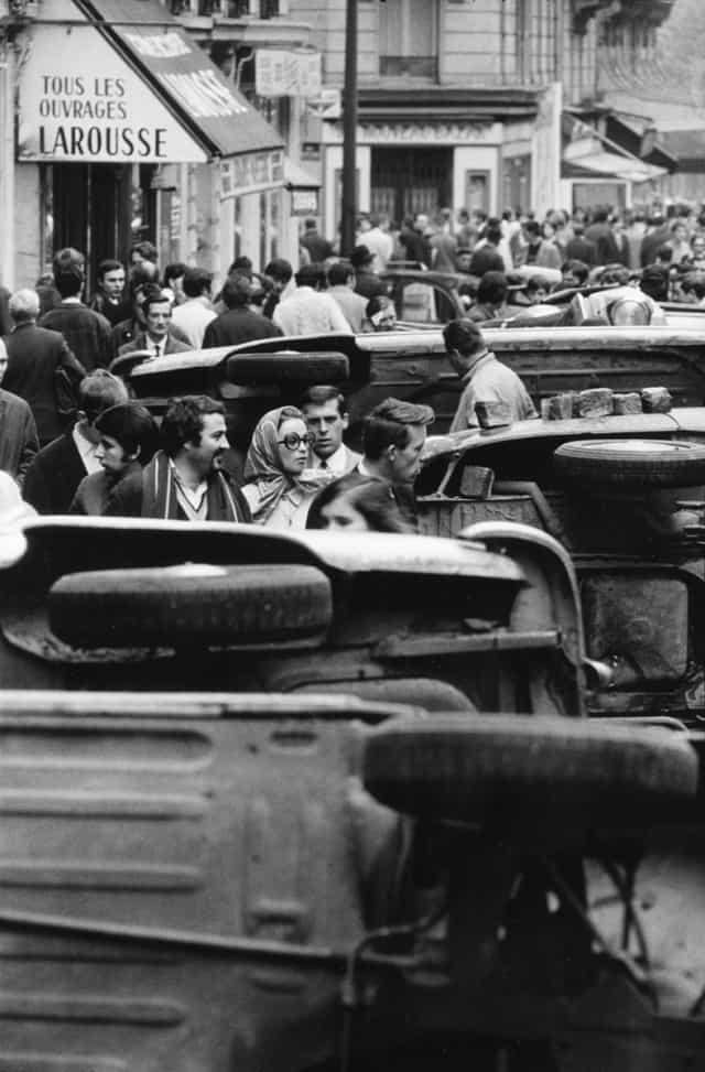 Rue Gay-Lussac, Paris, mai 1968, GC-08214-27A ©Fondation Gilles Caron