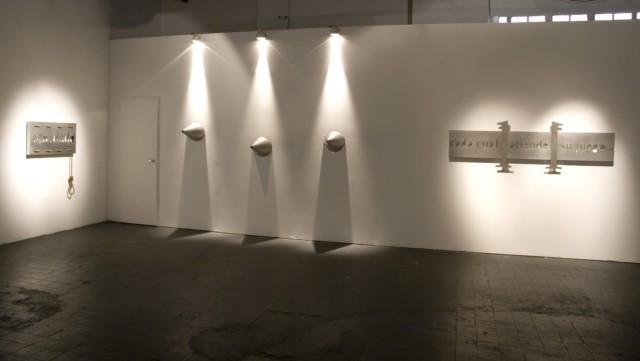 Exposition au musée d'Art Moderne Buenos Aires, Argentine, 2007 ©Marie Orensanz