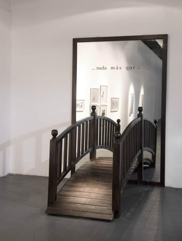 Nada mas que, 2007 Installation 70 x 140 x 230 cm ©Marie Orensanz