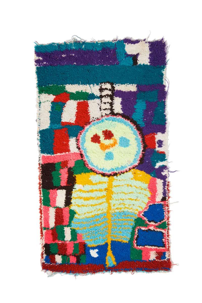 Zindekh, 90 x 53 cm Collection Françoise Dorget, Tapis & Mobilier vintage, 8 > 28 novembre 2019