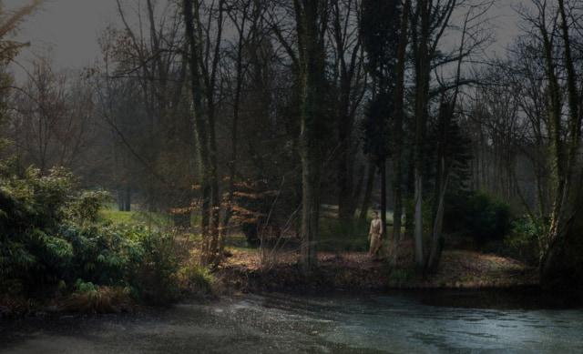 Hommage à George Clausen 2, 2013 série Hommage ©Nicolas Dhervillers