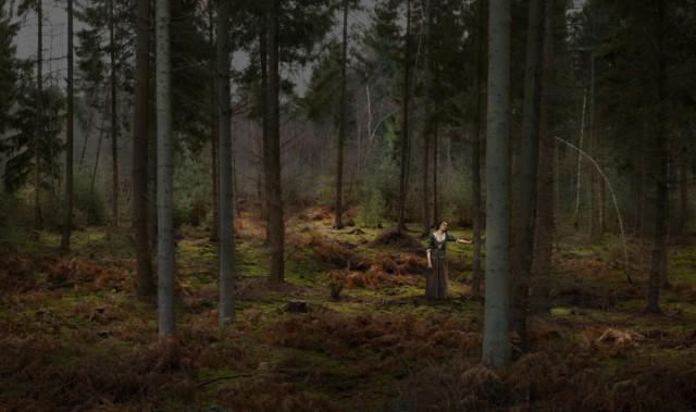 Hommage à Jules Bastien Lesage, 2013 série Hommage ©Nicolas Dhervillers