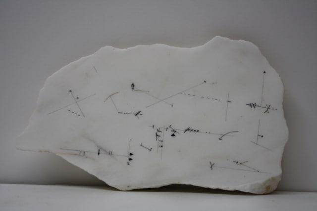 Force Dessin sur marbre ©Marie Orensanz