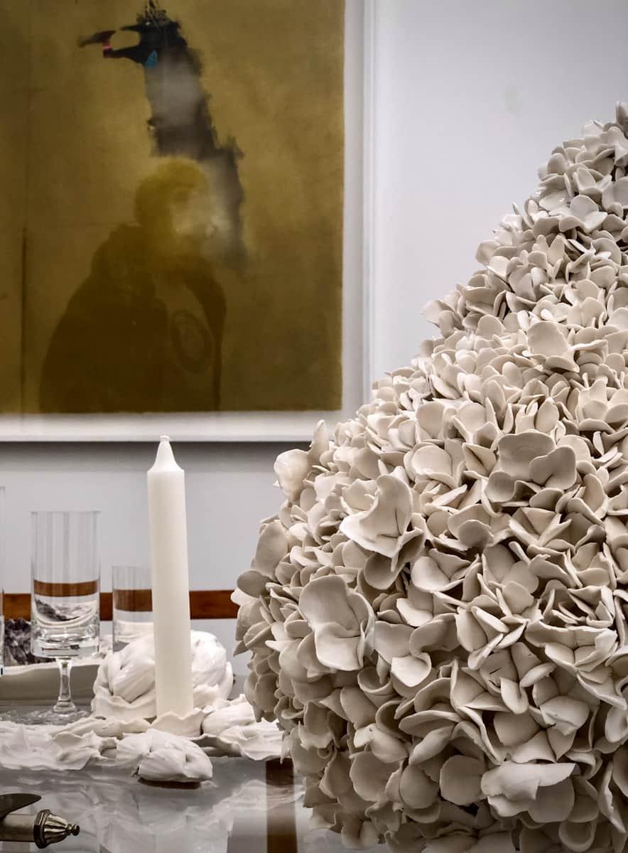 Set de service, porcelaine ©Virginie Boudsocq