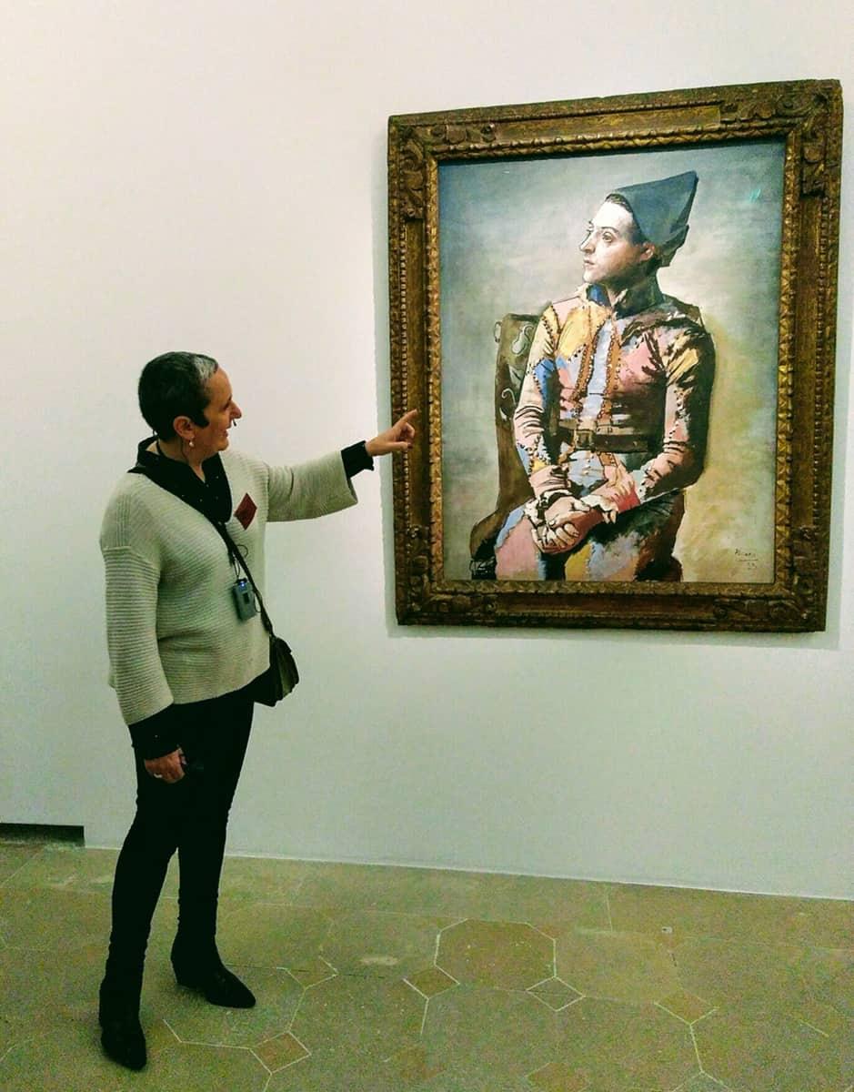 Les visites de Marta, musée Picasso, Paris