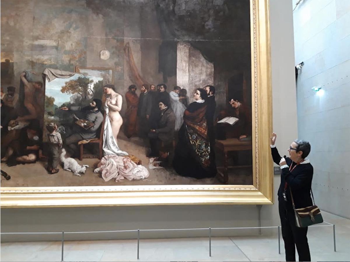 Les visites de Marta, musée d'Orsay, Paris