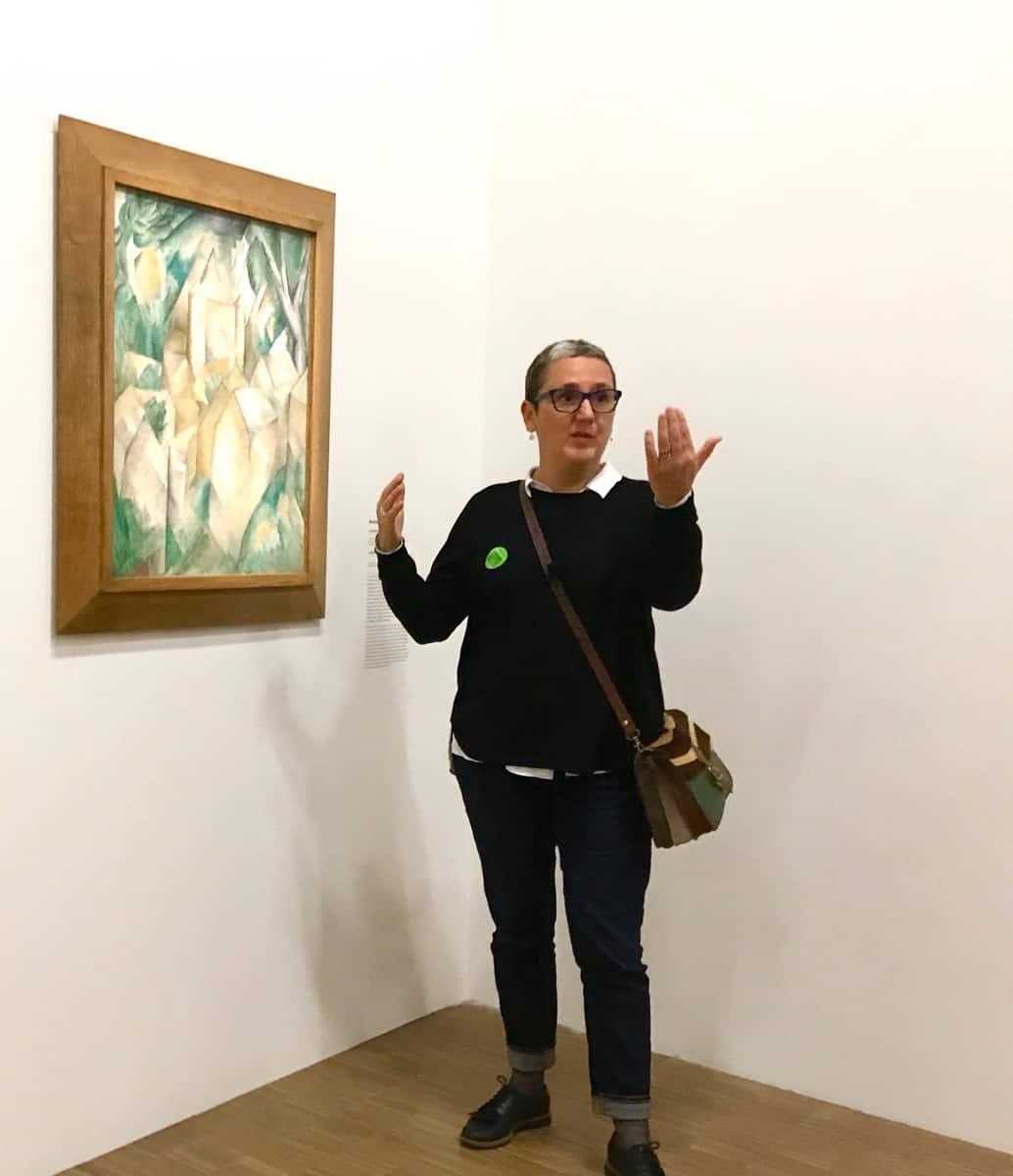 Les visites de Marta, exposition Le Cubisme, Centre Pompidou, Paris