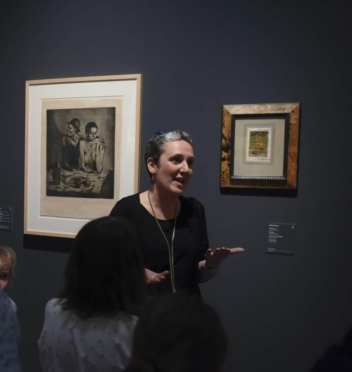 Les visites de Marta, musée Picasso, Barcelone