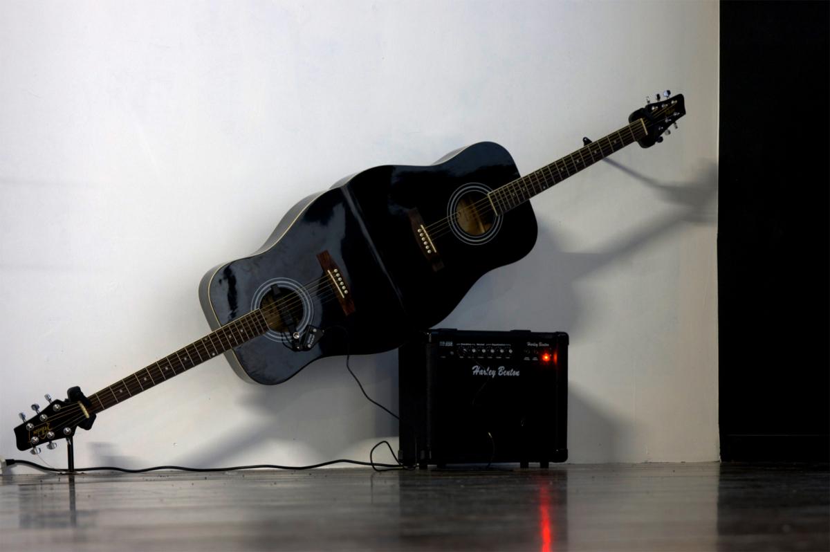 Alone together Guitare acoustique pour 2 joueurs ©Cécile Le Talec