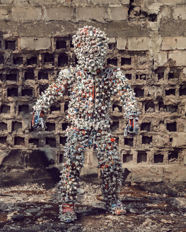 Untitled #4, 2020 Homo Detritus, Real Portraitik #5 Kinshasa, RDC ©Stephan Gladieu