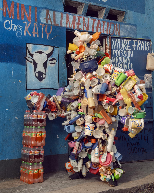 Untitled #5, 2020 Homo Detritus, Real Portraitik #5 Kinshasa, RDC ©Stephan Gladieu